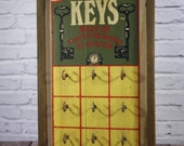 Key Holder - Vintage Hotel Keys