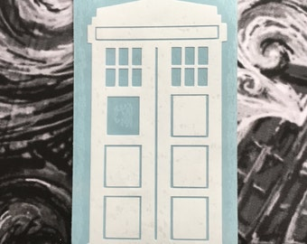 Doctor Who Inspired Tardis Car, Laptop, or Decor Vinyl Decal