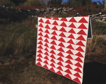 Red Geese Quilt