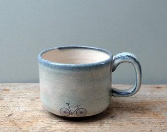 Blue Bike Mug