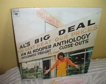 Al Kooper Al's Big Deal Unclaimed Freight Anthology DOUBLE Vinyl Record Album NEAR MINT condition