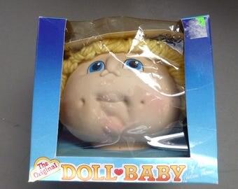 The Original Doll Baby, Doll Head by Martha Nelson Thomas 1984 Fibre Craft