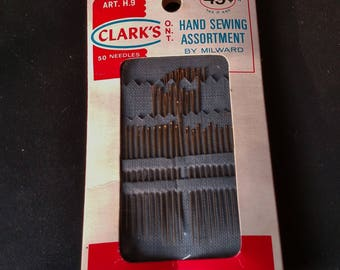 Clark's Hand Sewing Assortment - Vintage Sewing Needles