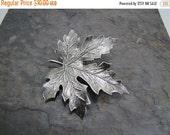 SALE Maple Leaf Brooch Pin