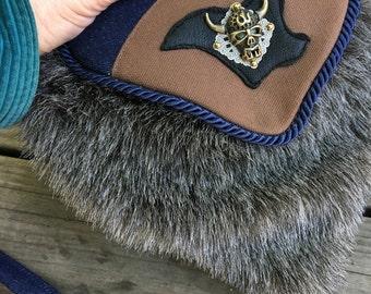 Furry Berserker Shoulder Pocket and Belt Bag Combination