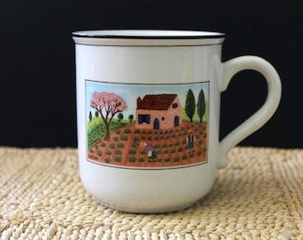 The Farm. Laplau mug or cup, Villeroy and Boch Design Naif. VITRO porcelain