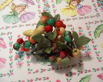 berries and fruit sprig