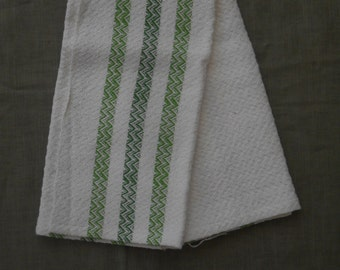 Cotton / Linen kitchen towel, hand woven