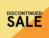 Discontinued Sale: 5 for 5 Dollars!
