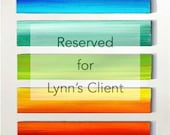 For Lynn's Clients   Original Ombre Art Panels  Original Custom Art by Rosemary Pierce