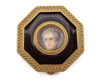 Compact Perfume Solid - Portrait Classic Renaissance Perfume Solid Charles Revson Ultima Scent