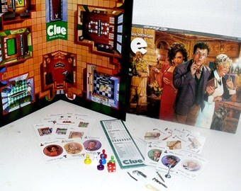 Clue - Parker Brothers Classic Detective Game - 1997