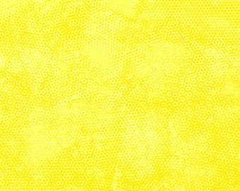 Dimples Yellow Blender Andover Fabric 1 yard