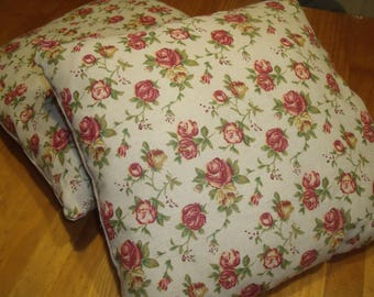 Pair of cushion/pillow cases