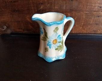 Cash Family Pottery Blue Ridge Pottery  Handpainted Creamer Mid Century