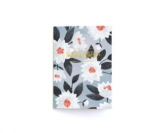 2018 Floral Calendar Notebook // 1canoe2
