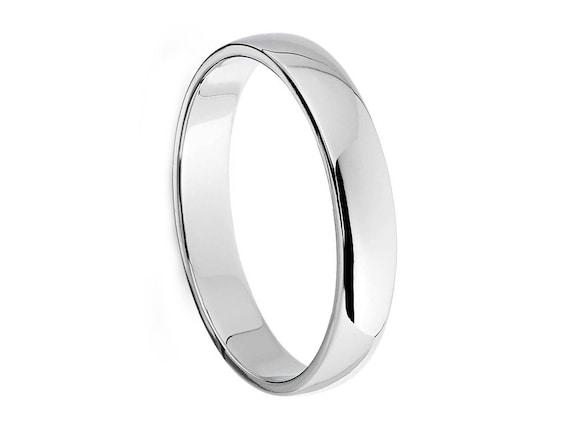 platinum ring wedding band custom made best price at 4mm