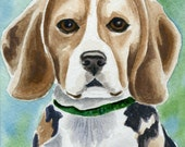Custom 8 x 10 inch watercolor painting