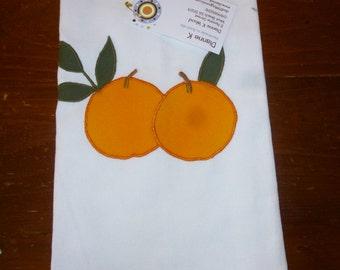 Tea Towel with Oranges (634)
