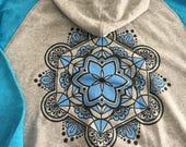 Sacred Space Tattoo Studio Ladie's Zip Up Hoodie