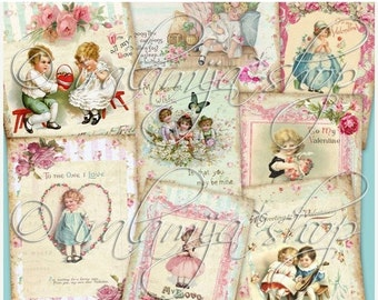 SALE MY LOVE Collage Digital Images -printable download file-