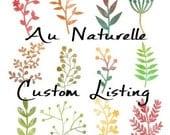 Custom Listing For Geri Barnett