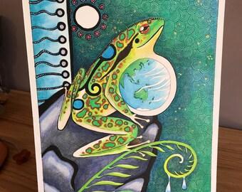 Original Earth Frog as Totem