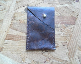 Brown Leather Phone Case