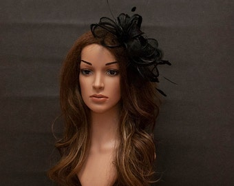 Black fascinator for your special occasions