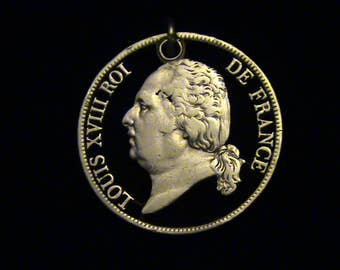 FRANCE - 1823 - King Louis XVIII - SILVER - One Of A Kind!!!