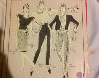 Vintage Uncut Knitwit Pattern 4000