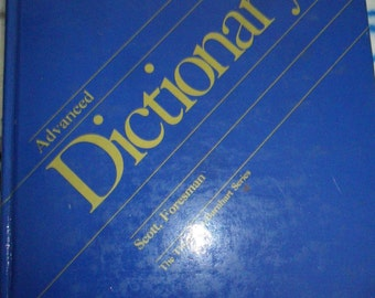 Vintage Advanced Dictionary by The Thorndike-Barnhard Series
