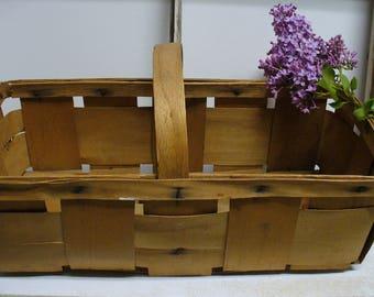 Vintage Produce Basket