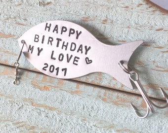 Fishing Lure Personalized, Gift For Fisherman, Fishing Gift, Custom Fishing Lure, Birthday Gift, Fisherman