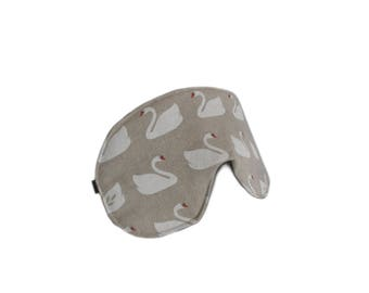 eyemask swan canvas adjustable