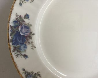 1987 Royal Albert Moonlight Rose Fine Bone China Dinner Plate MADE IN ENGLAND Many Pieces Available