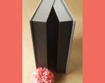Custom Clam Shell Box for Wedding Guest Book · Wedding Guest Book Clam Shell Box · Box for housing Custom Guestbook · Guest Book Storage Box