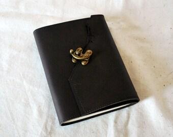 Rugged Leather Address Book- Phone Book