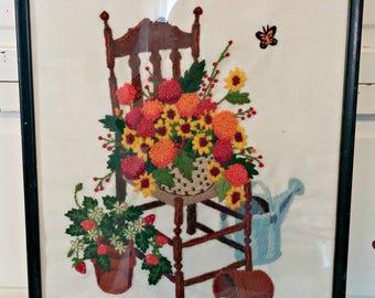 Vintage Stitchery | Garden Chair