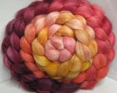 BFL/Tussah 75/25 Roving Combed Top - 5oz - Fired Up 2