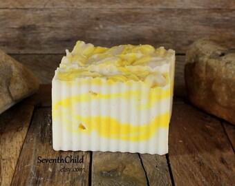 Jasmine Handmade Soap / Shampoo - Conditioning & Gentle - Vegan - One 6 Ounce +/- Bar