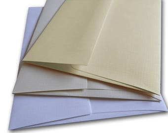 Royal  LINEN  70lb text A7 Envelopes - 50 pack