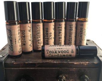 Bloodbath Indie Perfume Oil 10 ml Roll-on bottle