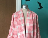 Reserved reserved Rockabilly Saturday Nite - 1950's Repro Plaid Cropped Swing Coat
