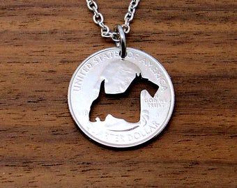 Scottish Terrier Necklace, Scotty, Scottie, Dog Necklace, Scottish Terrier Dog, Keychain, Scottie Dog Necklace, Scottie Pendant
