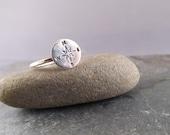 Kompass Kompass-Ring-Silber-Ring - Abschlussgeschenk