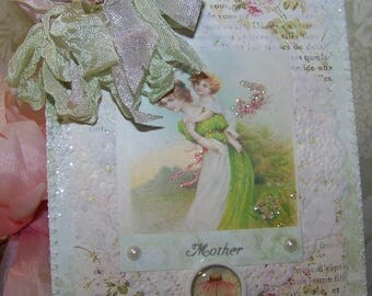 Cards for Mother All Occasion Mothers Day Card Vintage Style