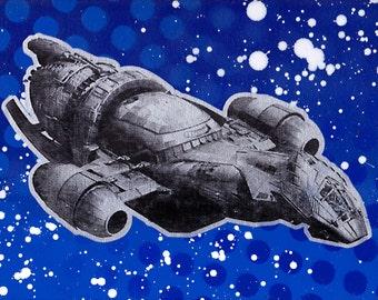 Firefly 9x12 Screenprinted Wall Art