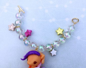 Baby pegasus bag charms - Fizzy Pop