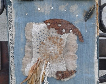 Textile Poem Wall Hanging